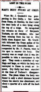 Gippsland Times, January 1924